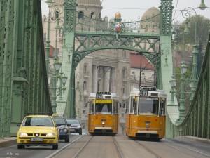 Tramway à Budapest - Bandeau Frédéric Lassureur
